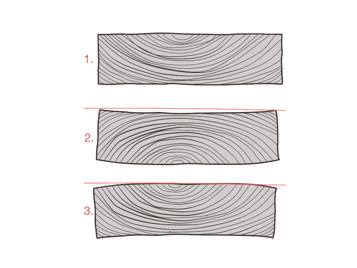 Bretter-lagern-offene-Jahresringe-nach-oben