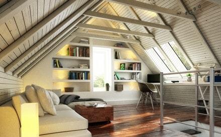 Charmant Nicht Alle Dächer Eignen Sich Für Einen Dachbodenausbau. Hier Ein  Mansarddach. Diese Dachform Ist Für Einen Ausbau Perfekt Geeignet.