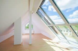 Richtig ausgebaut, kann das Dachgeschoss ein wunderschöner, heller Wohnbereich werden.
