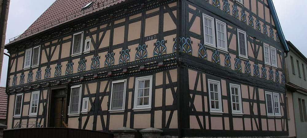 Fachwerkhaus-Deutschland-Schlotheim