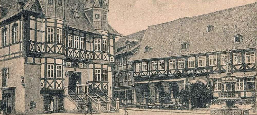 Fachwerkhaus-Rathaus-und-Gothisches-Haus-Wernigerode