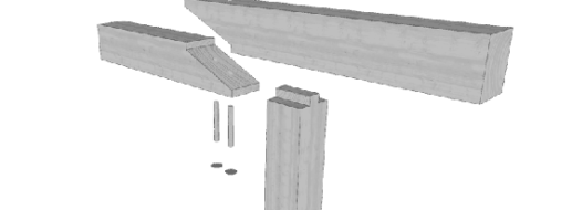 Der Gerberstoß im Holzbau