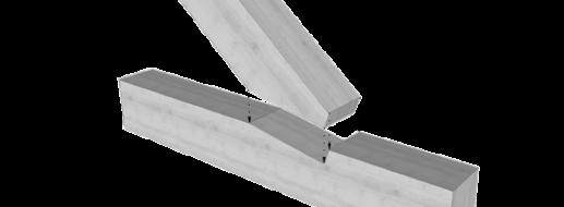 Der Stirnversatz – Maße, Kräfte + Zapfen Variante