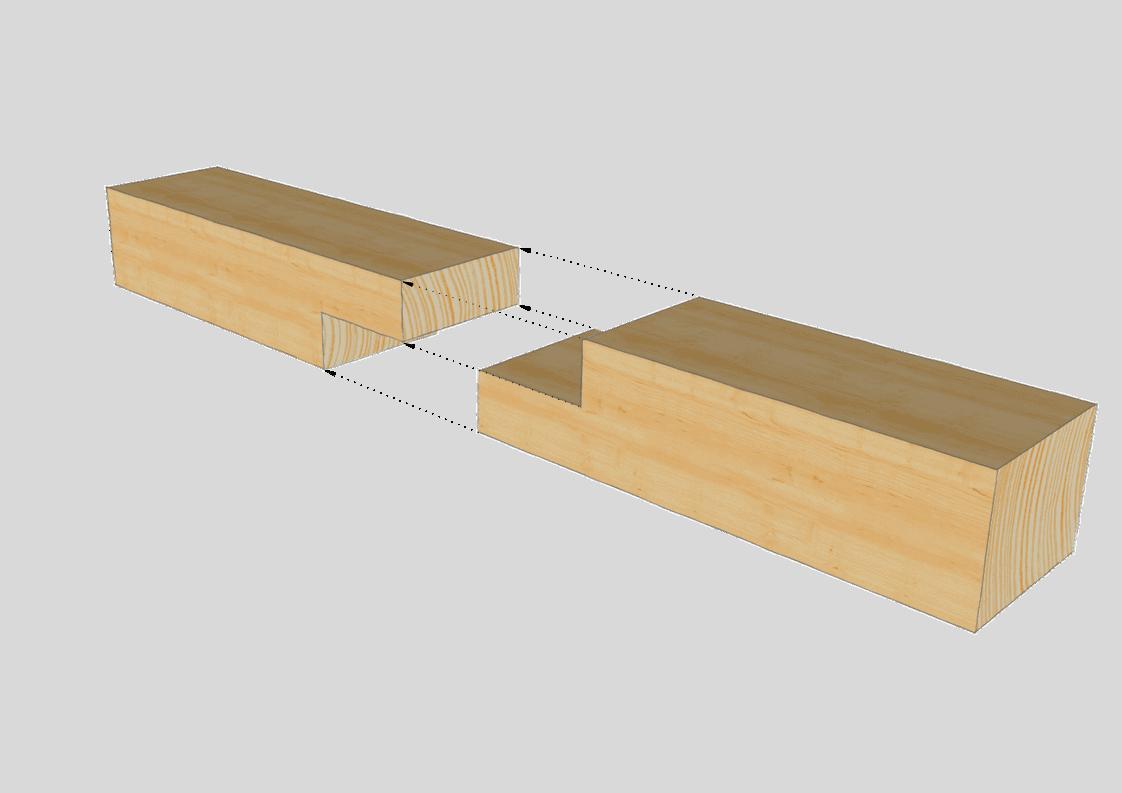 Ber 34 zimmermannsm ige holzverbindungen baubeaver for Holzverbindungen herstellen