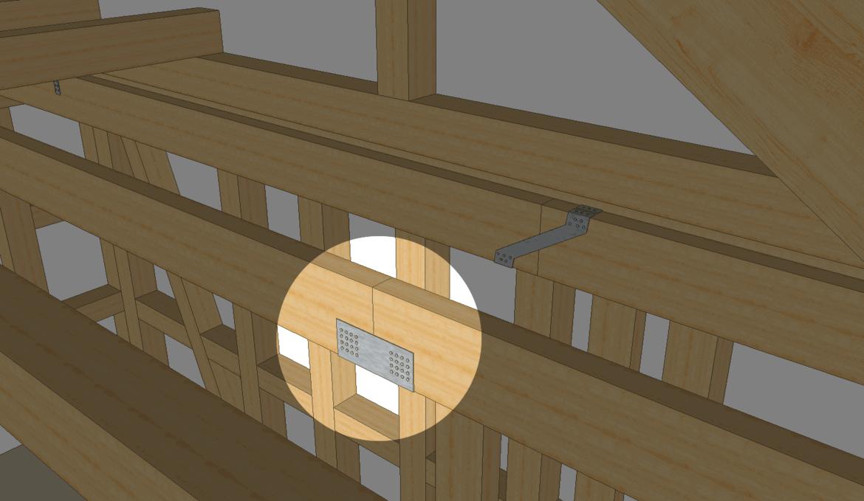 holzbalken verbinden 12 solide techniken baubeaver. Black Bedroom Furniture Sets. Home Design Ideas