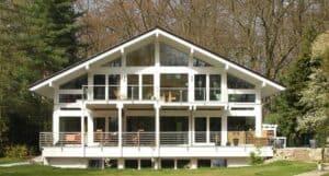Ein modernes Fachwerkhaus