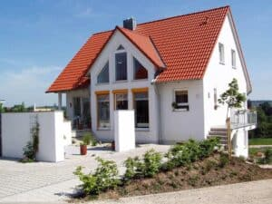 Ein in Massivbauweise gebautes Haus