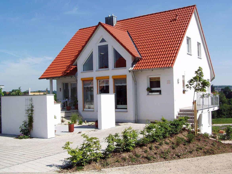 Wonderful Ein In Massivbauweise Gebautes Haus