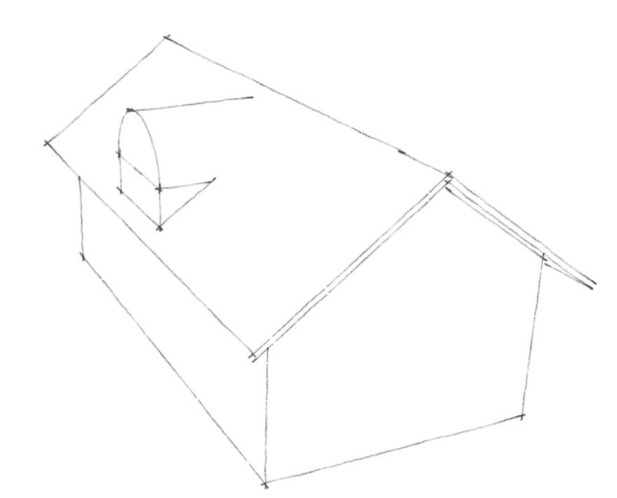 Dachgauben Formen: Rundgaube