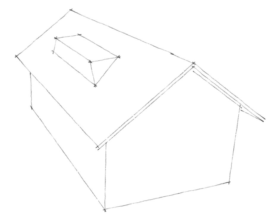 Dachgauben Formen: Trapezgaube