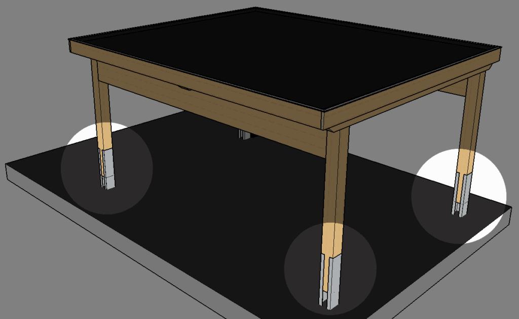 einbetonierte-fußträger-carport-selbst-bauen