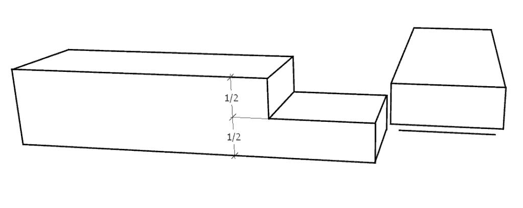 Glattes Eckblatt (Zimmermannsmäßige Holzverbindungen)