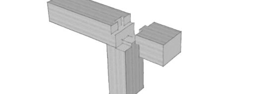 Holzbalken verbinden: 12+ solide Techniken