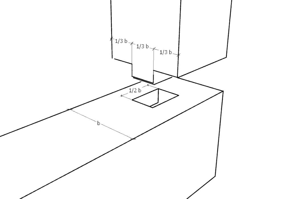 kettenstemmer-zapfen-verbindung
