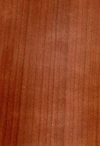 Maserung des Kirschbaumholzes