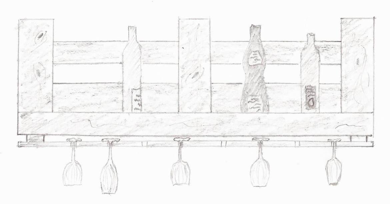 Palettenm bel aus europaletten selber bauen baubeaver - Palettenregal selber bauen ...