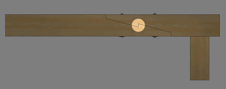 schräges-heckenblatt-lotrecht-detail