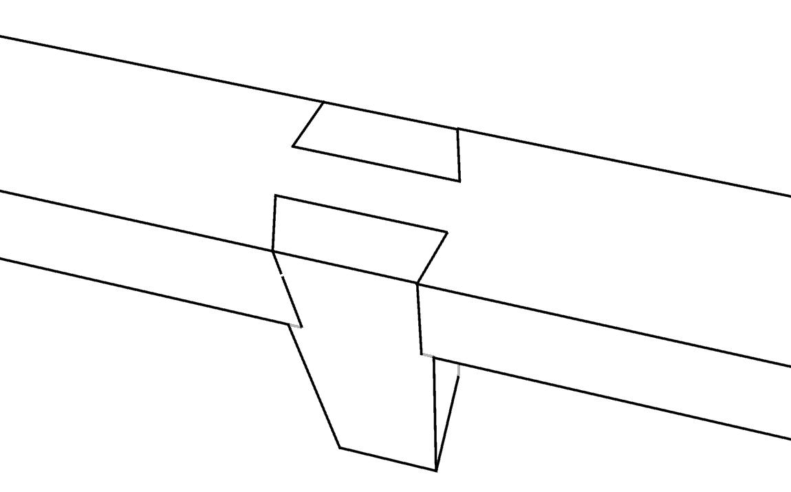 12 praktische schwalbenschwanz verbindungen baubeaver for Zimmermannsverbindungen herstellen