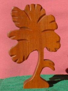 Birkenholz hat eine gleichmäßige Maßerung.