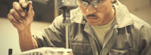Werkbank für die Metallverarbeitung