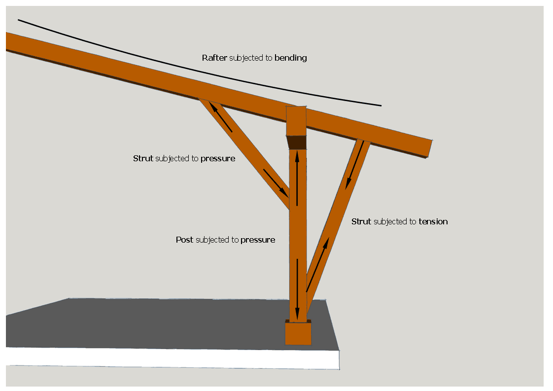 what-forces-appear-at-rafters-purlins-or-posts-black