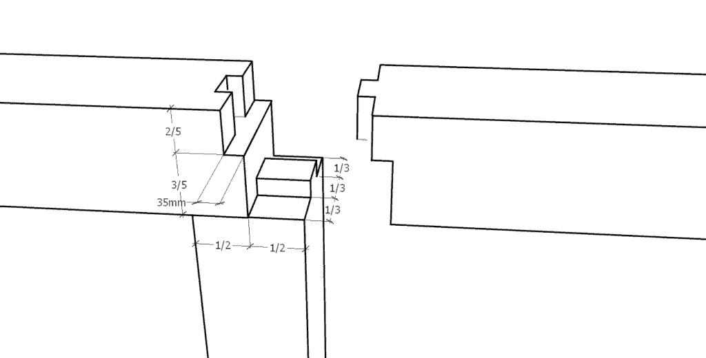 Zapfenblatt (Zimmermannsmäßige Holzverbindungen)