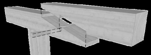 Über 34 zimmermannsmäßige Holzverbindungen