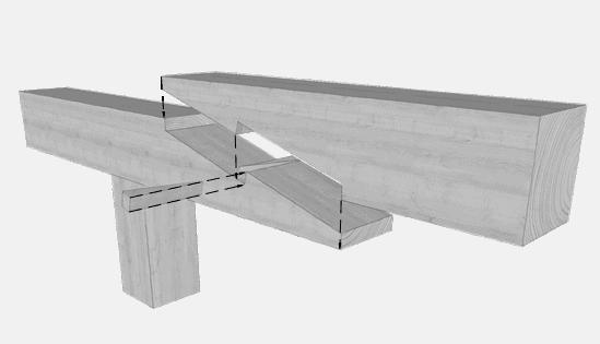 Zimmermannsmäßige Holzverbindungen