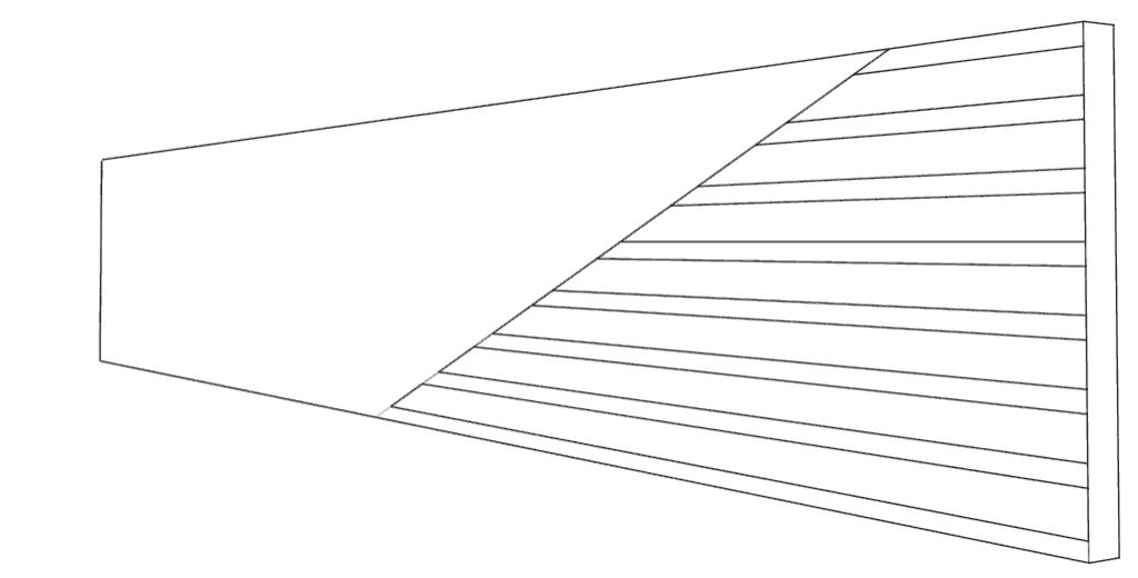 Übertragung der Streckeneinteilung