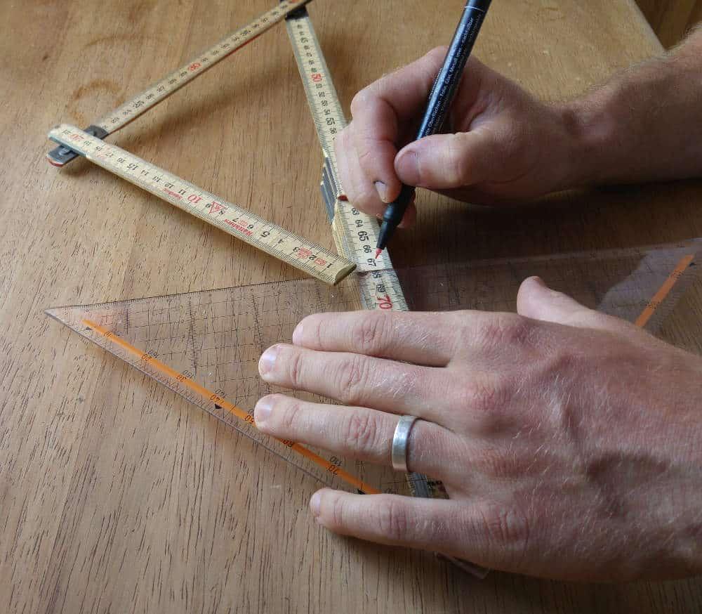 2 schnelle tricks: so wird dein zollstock zu einem winkelmesser